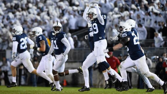Penn State stuns No. 2 Ohio State