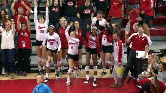 Nebraska wins top-five showdown with Minnesota