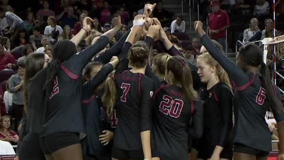 Stanford sweeps USC