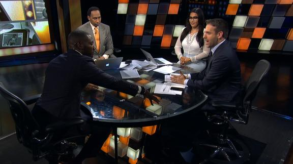 Clark and Stephen A. do not like ties in the NFL