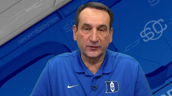 Coach K relishes high expectations
