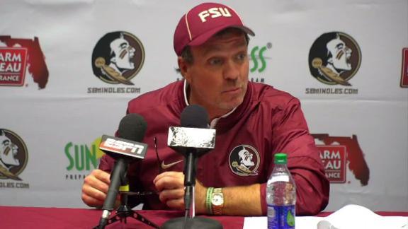 Jimbo Fisher calls penalty call 'gutless'