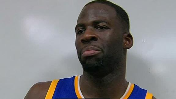 Draymond Green: 'Teams are trying to punk us'