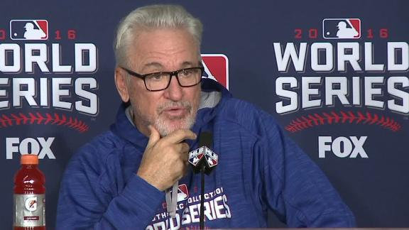 Maddon says Chapman available for two innings