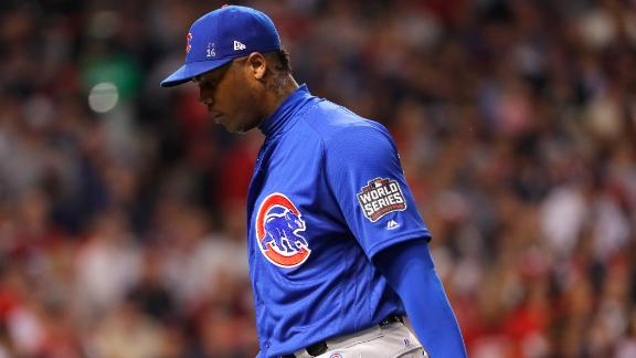 Should Maddon have played Chapman in the ninth inning?