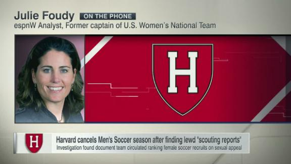 Harvard cancels men's soccer season after finding lewd 'scouting reports'
