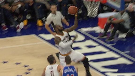 LeBron passes Olajuwon on all-time scoring leaders