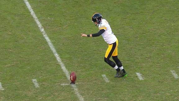 Steelers onside kick doesn't go as planned