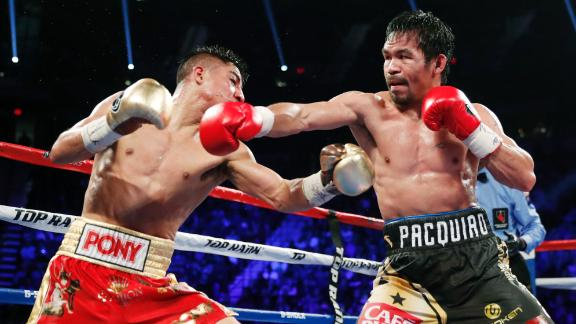 Pacquiao beats Vargas by unanimous decision