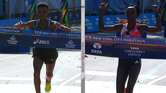 Ghebreslassie, Keitany win NYC marathon