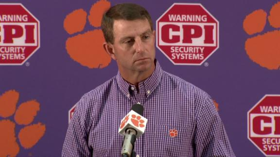 Clemson plans to honor Watson, other graduating Juniors