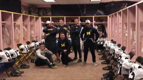 Michigan gives Iowa locker room makeover
