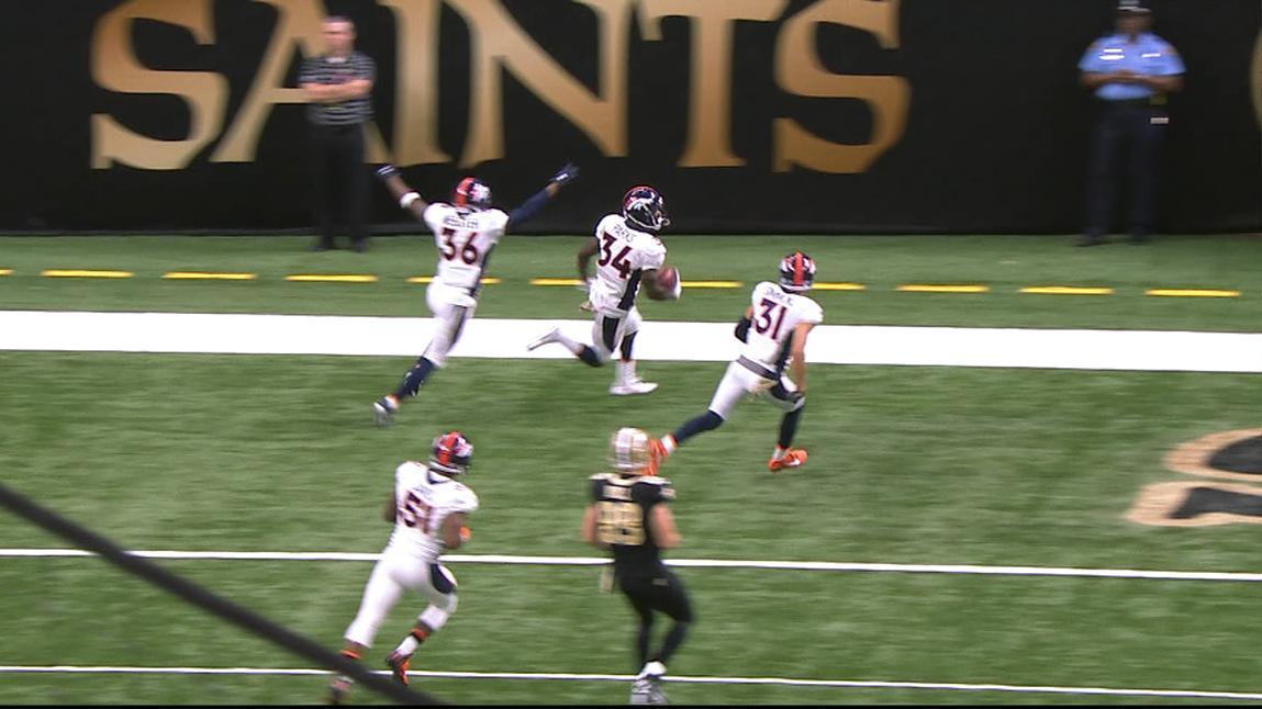 Broncos return blocked PAT for dramatic win