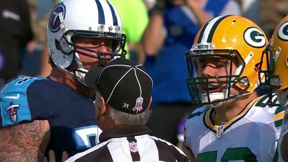 Lewan ejected for making contact with official