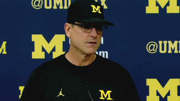 Harbaugh confident in Michigan's backup QBs