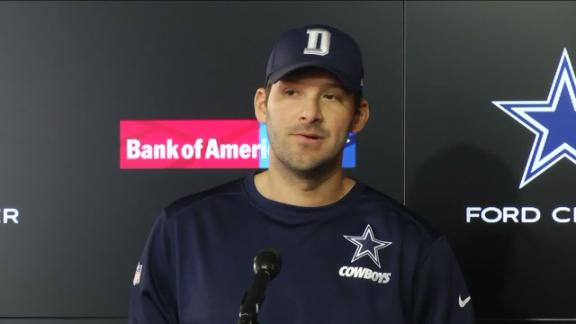 Emotional Romo says Prescott has earned right to be Cowboys' starter