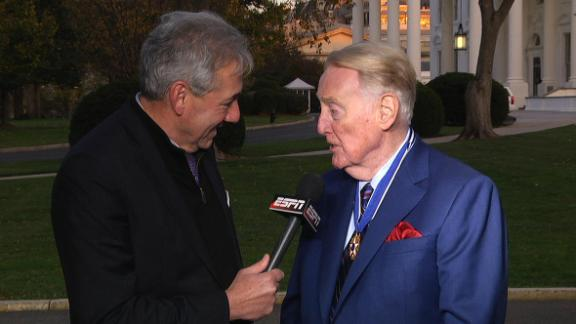 Scully humbled by Presidential Medal of Freedom honor