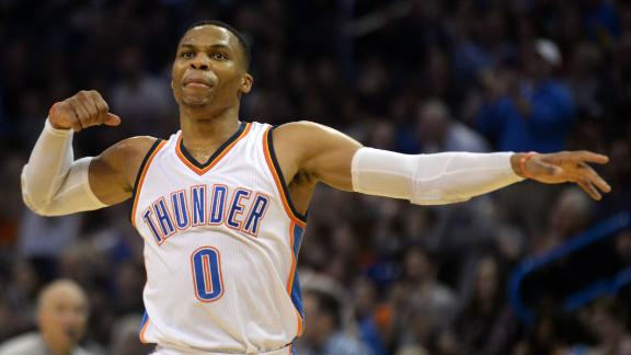Westbrook gets second straight triple-double in win