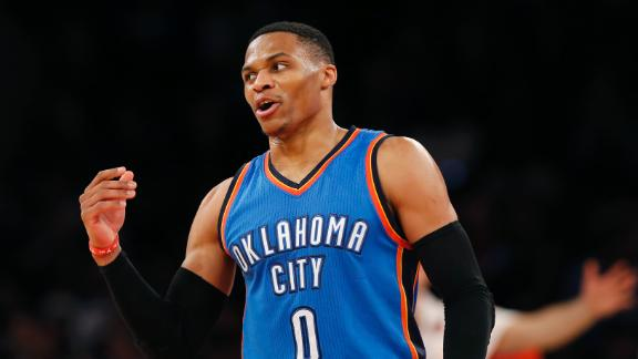 Westbrook's triple-double average is incredibly rare