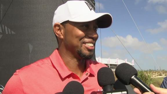 Tiger happy to be out playing in Pro-Am