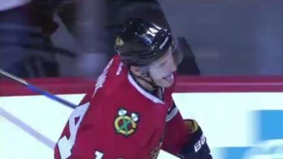 Panik nets the shootout winner for Blackhawks
