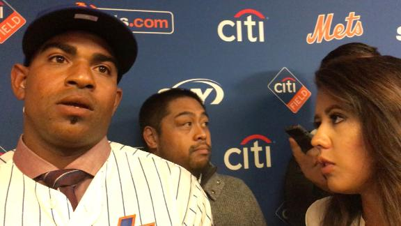 Cespedes wanted to remain a Met