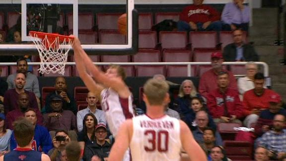 Stanford's alley-oop fail