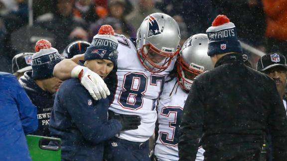 Pats' Gronkowski placed on IR, done for season
