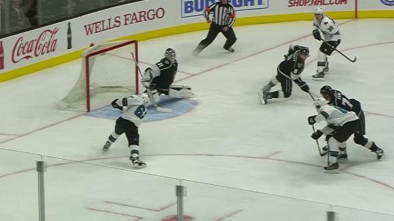 Sharks take early lead in first period