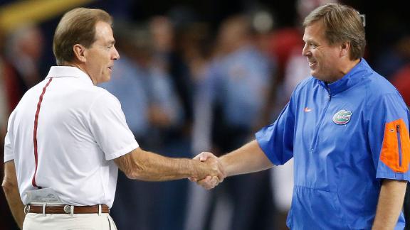 SEC showdown: Tide vs. Gators