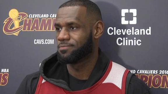 LeBron honored to win SI's Sportsperson of the Year award