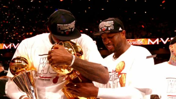 LeBron and Wade's exceptional run with Miami