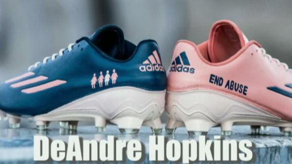 Sneak peak of the NFL's My Cause, My Cleats