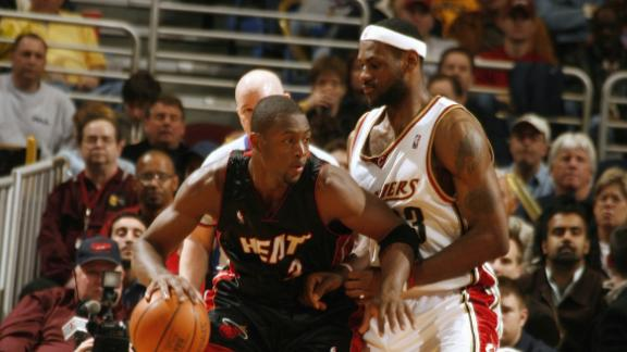 LeBron and D-Wade's classic fourth quarter duel