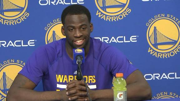 Draymond Green frustrated by flagrant foul 1 call in 2OT