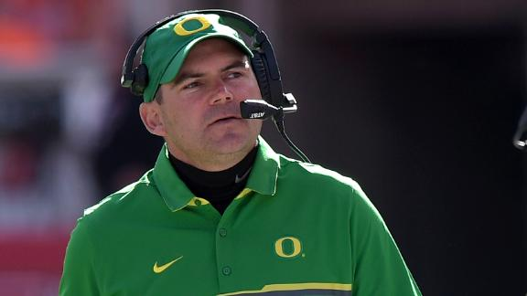 Mark Helfrich says he appealed to Chip Kelly to return to Ducks