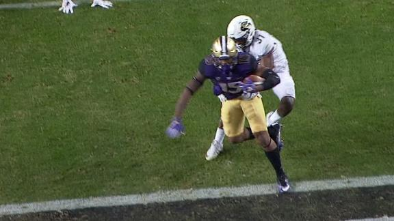 Browning hits Daniels for another Washington TD