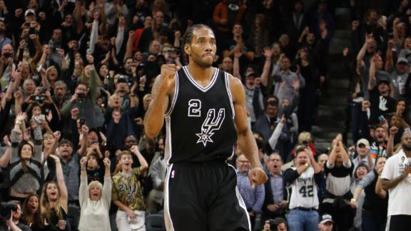 Leonard's shot sends Spurs past Wizards