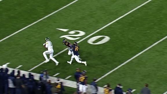 Hobbling Smith throws a strike for Baylor TD