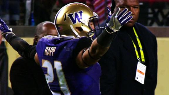 Washington makes statement with rout in Pac-12 title game