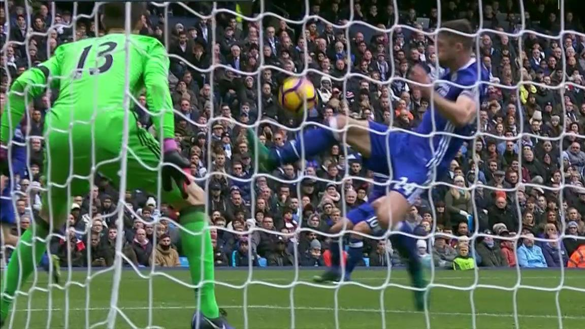Cahill's unfortunate own goal