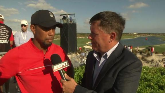 Woods: 'I just needed to get some rest'