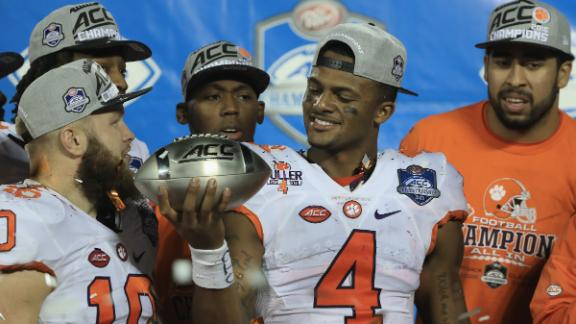 Clemson holds on for second straight ACC title