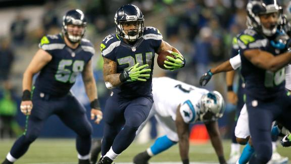 Seahawks steamroll Panthers