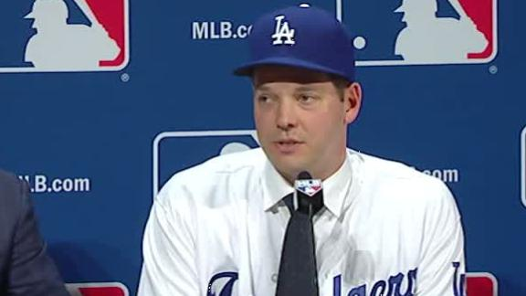 Emotional Rich Hill reflects on 'incredible journey'