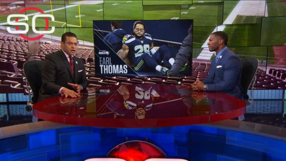 How does Thomas' season-ending injury affect Seahawks?