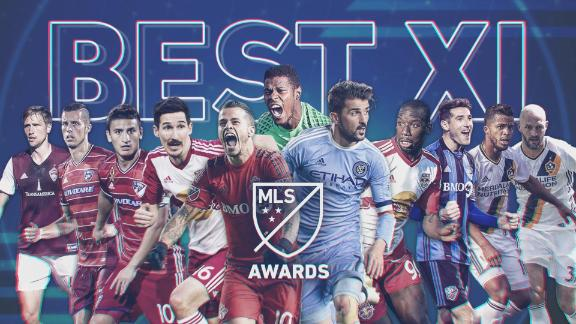 Video via MLS: 2016 MLS best starting XI
