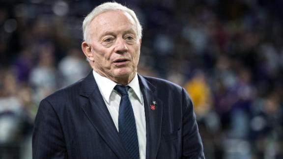 Jerry Jones says end of regular season will be 'business as usual'