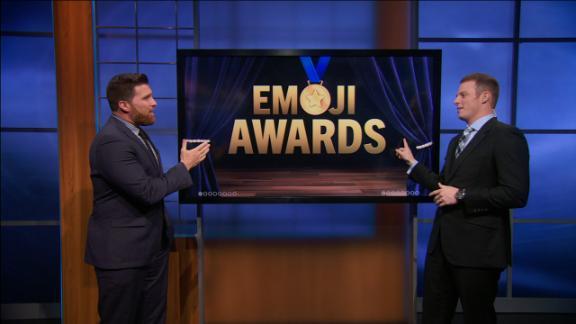 Who wins the Emoji Awards?