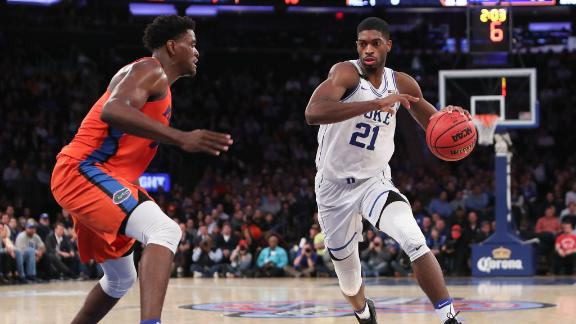 Florida can't keep up with seasoned Blue Devils